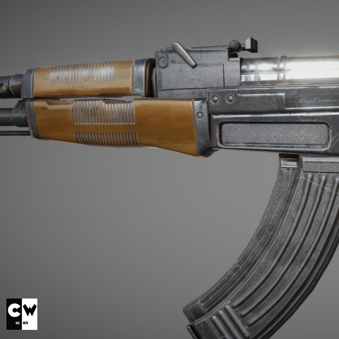 AK-47 Game Model